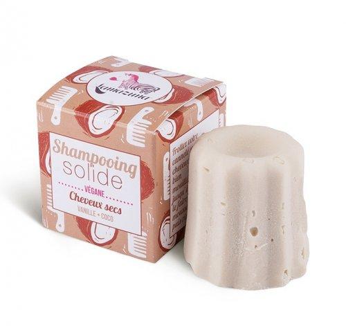 Shampoo Solido per Capelli Secchi Vaniglia e Cocco