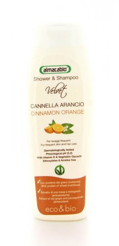 Shower & Shampoo Cannella Arancio - 250 ml.