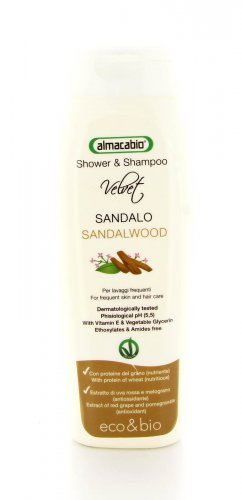 Shower & Shampoo Sandalo - 250 ml.