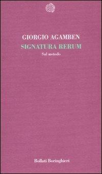 Signatura Rerum