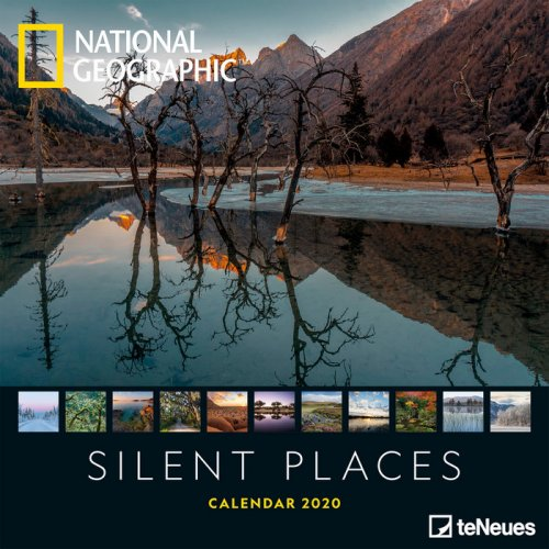 Calendario Silent Places - National Geographic 2020
