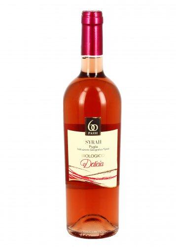 Vino Rosato Bio Syrah Delicia