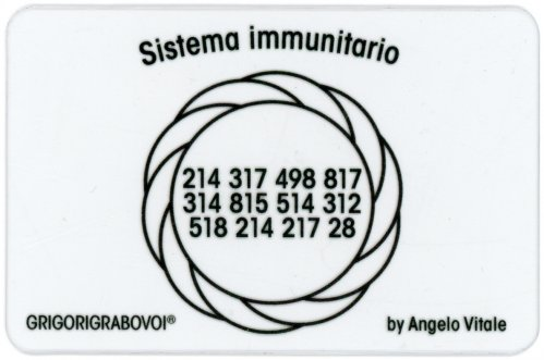 Tessera Radionica - Sistema Immunitario