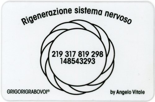 Tessera Radionica - Rigenerazione Sistema Nervoso