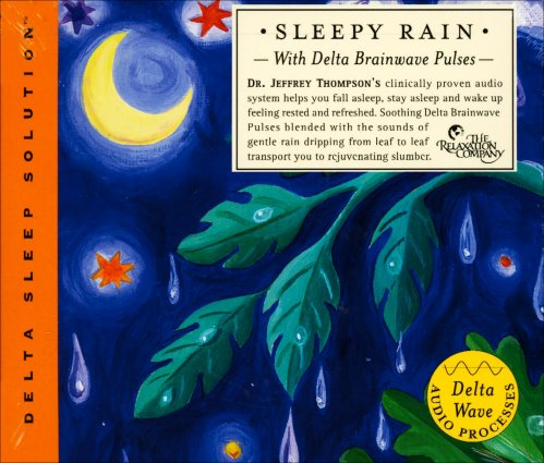 Sleepy Rain with Delta Brainwave Pulses