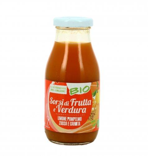 Smoothie Arancione - Sorsi di Frutta e Verdura