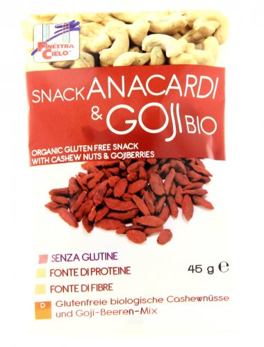 Snack - Anacardi & Goji Bio