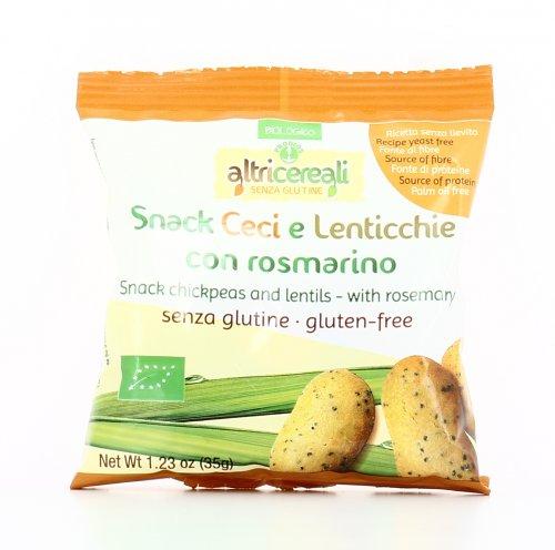 AltriCereali - Snack Ceci e Lenticchie con Rosmarino Bio