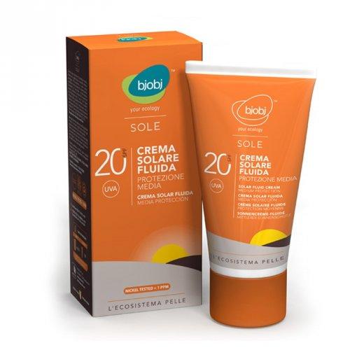 Sole - Crema Fluida Solare Protezione Media 20 Spf
