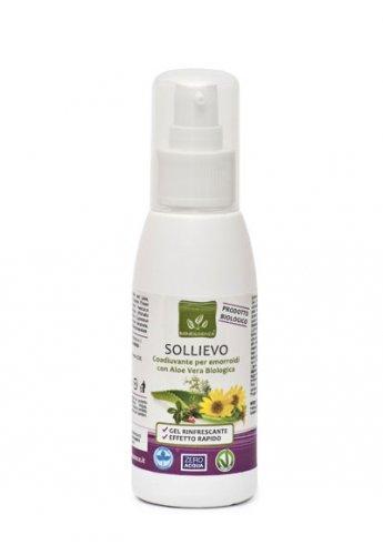 Sollievo - Coadiuvante per Emorroidi con Aloe Vera Biologica