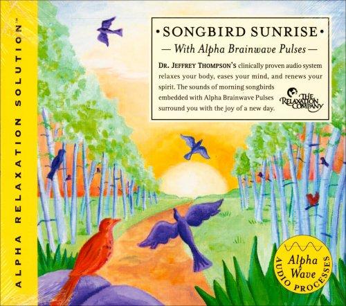 Songbird Sunrise with Alpha Brainwave Pulses