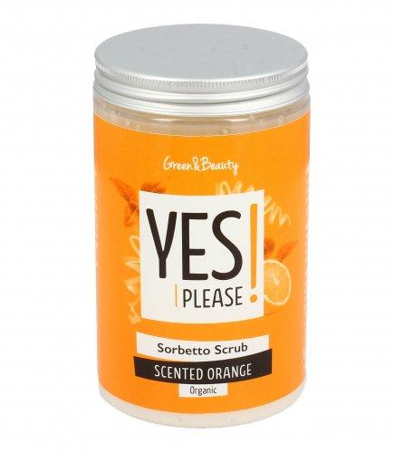 Sorbetto Scrub Yes Please - Scented Orange