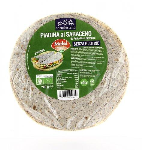 Piadina al Grano Saraceno - Senza Glutine