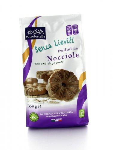 Senza Lieviti - Frollini alle Nocciole Bio