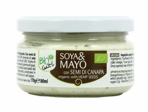 Maionese Vegetale con Semi di Canapa - Soya&Mayo BioGustì