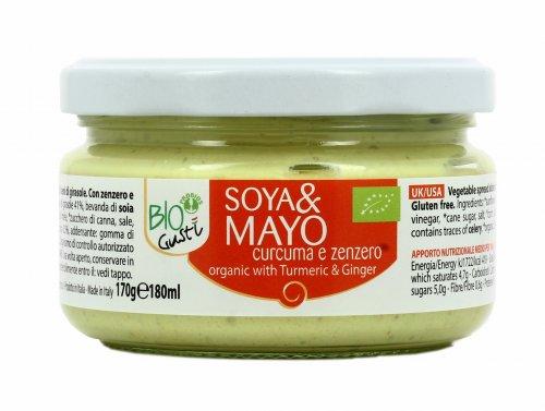 Maionese Vegetale con Zenzero e Curcuma - Soya&Mayo BioGustì