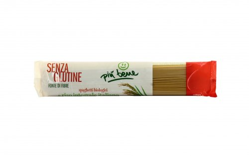 Spaghetti Bio di Riso Integrale Senza Glutine