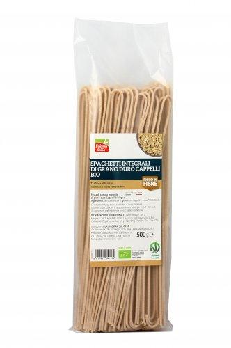 Spaghetti Integrali di Grano Duro Cappelli Bio