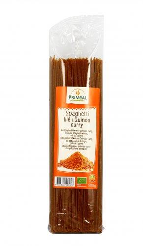 Spaghetti Quinoa e Curry Bio