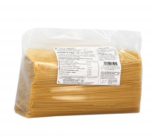 Spaghetti di Semola di Grano Duro Bio