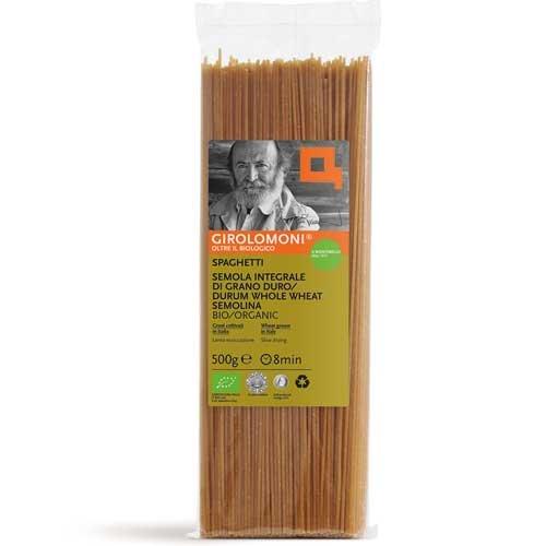 Spaghetti di Semola Integrale di Grano Duro Bio - 500 gr.