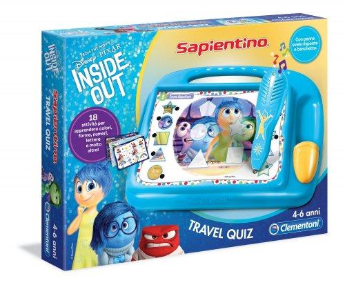 Sapientino Travel Quiz - Inside Out