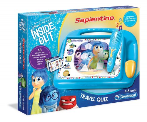 Sapientino Travel Quiz - Inside Out