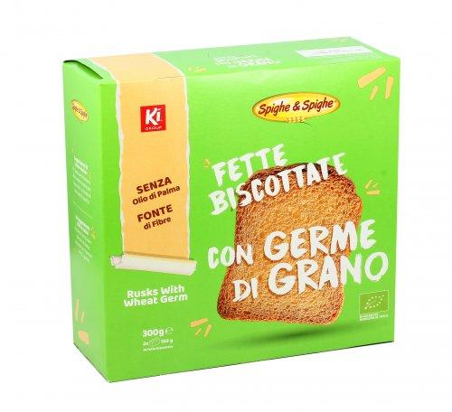 Fette Biscottate con Germe di Grano Bio