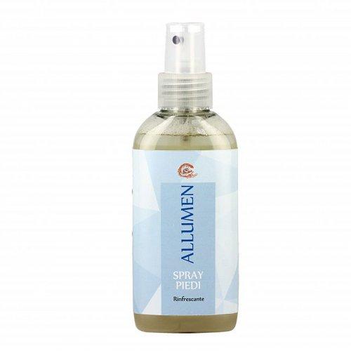 Spray Antiodorante e Rinfrescante all'Allume di Potassio per Piedi