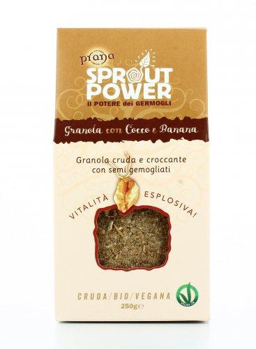 Granola con Cocco e Banana - Sprout Power