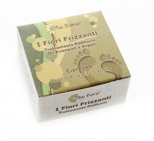 Fiore Frizzante Pediluvio - Cipresso