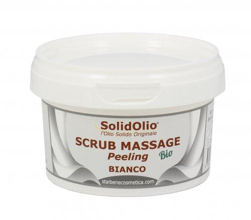 Olio Solido - Scrub Massaggio - Bianco