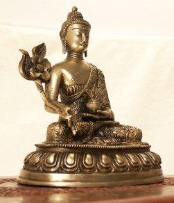 Statua Buddha della Guarigione - cm 21