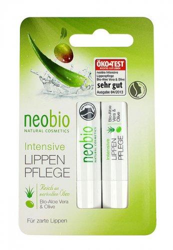 Stick Cura Labbra con Aloe e Oliva