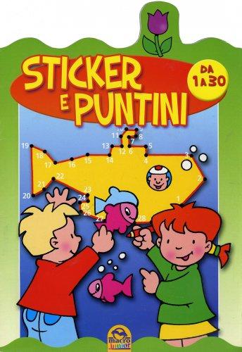 Sticker e Puntini da 1 a 30