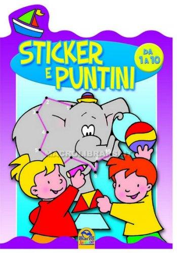 Sticker e Puntini da 1 a 10