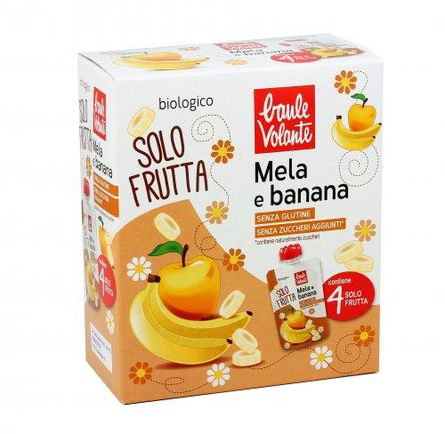 Purea di Mela e Banana Bio - Solo Frutta