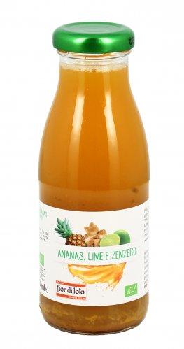 Succo di Ananas Lime e Zenzero