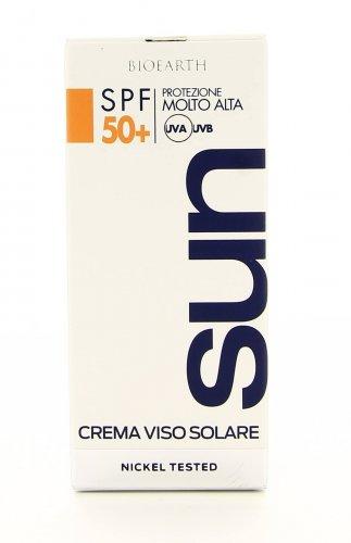Bioearth Sun - Crema Viso Solare 50 Spf