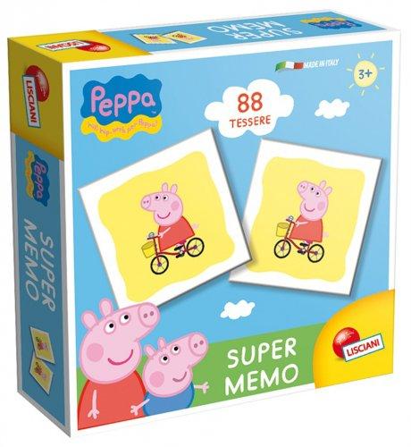 Super Memo Peppa Pig - 88 Tessere - 3 Anni