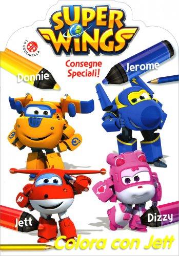 Super Wings Consegne Speciali! - Colora con Jett