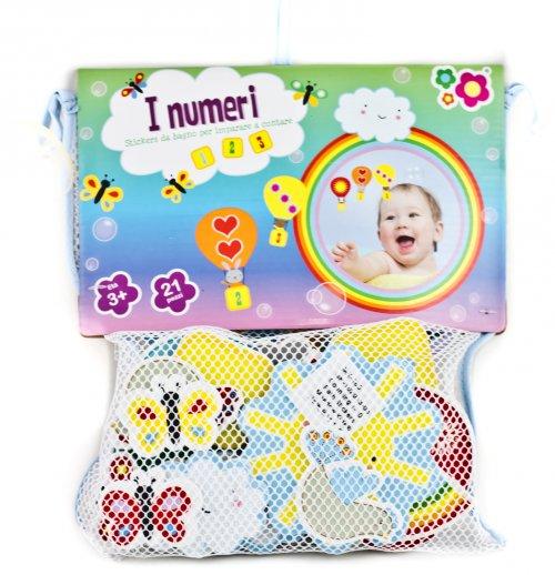 Stickers da bagno i numeri meadow kids for Stickers per mattonelle bagno
