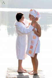 "Telo/Asciugamano da Mare ""Om""..."