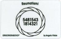 Tessera Radionica - Reumatismi