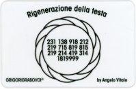 Tessera Radionica - Rigenerazione della Testa