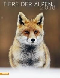 Calendario Animali delle Alpi - Tiere Der Alpen 2018