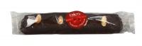 Torrone Bio alle Mandorle ricoperto con Cioccolato Extra Fondente