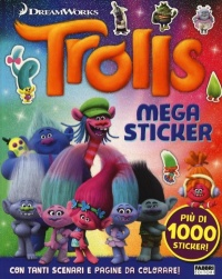 Trolls. Megasticker