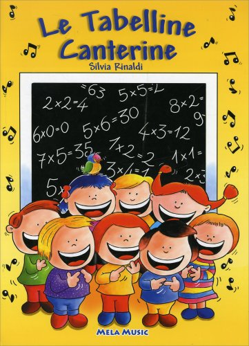 Le Tabelline Canterine - Con CD Audio Allegato