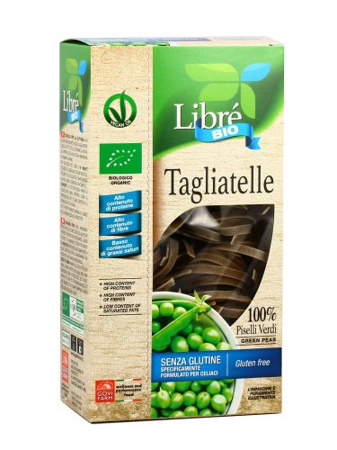 Tagliatelle ai Piselli Verdi - Senza Glutine